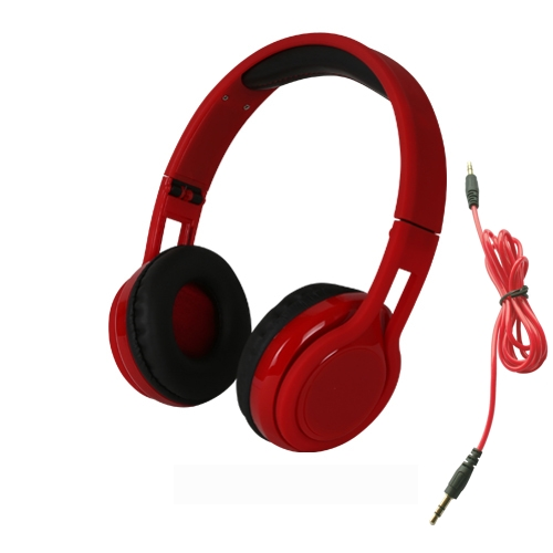 CASQUE FERME STEREO ROUGE